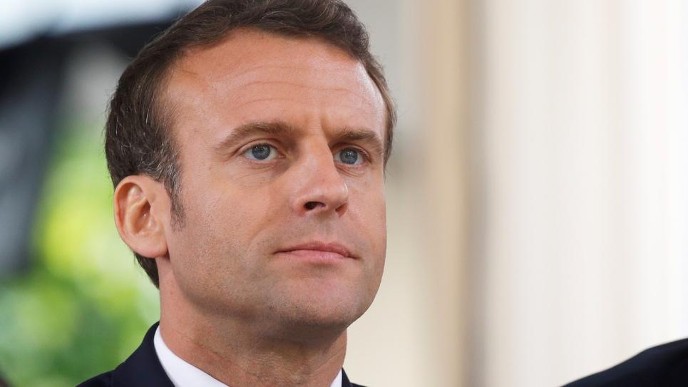 Le président Emmanuel Macron, le 10 mai 2019 à Paris
