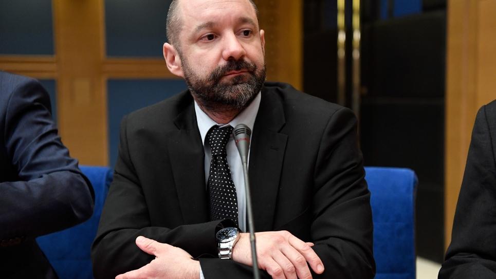 Vincent Crase devant la commission d'enquête du Sénat le 21 janvier 2019
