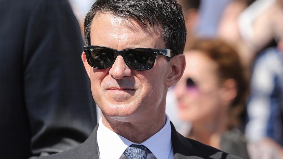L'ex Premer ministre Manuel Valls le 1er juillet 2018