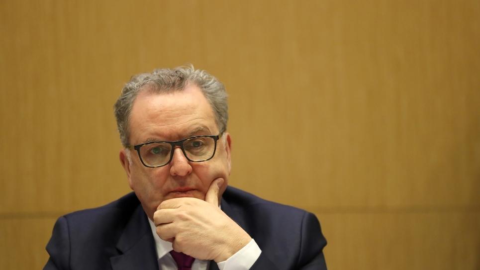 Le président de l'Assemblée nationale Richard Ferrand, le 25 amrs 2019 à Paris