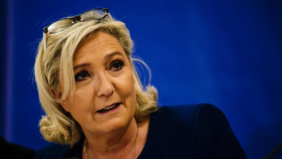 Marine Le Pen le 3 mai 2019 à Sofia