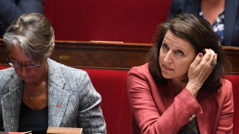 La ministre de la Santé, Agnès Buzyn, à l'Assemblée nationale à Paris, le 23 mai 2018