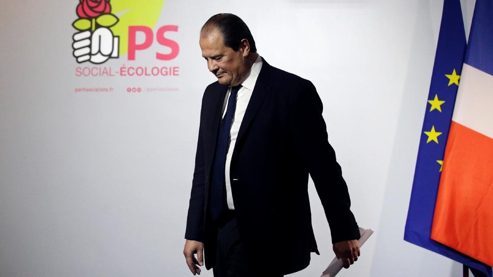 Le premier secrétaire du PS Jean-Christophe Cambadélis à Paris, le 22 janvier 2017