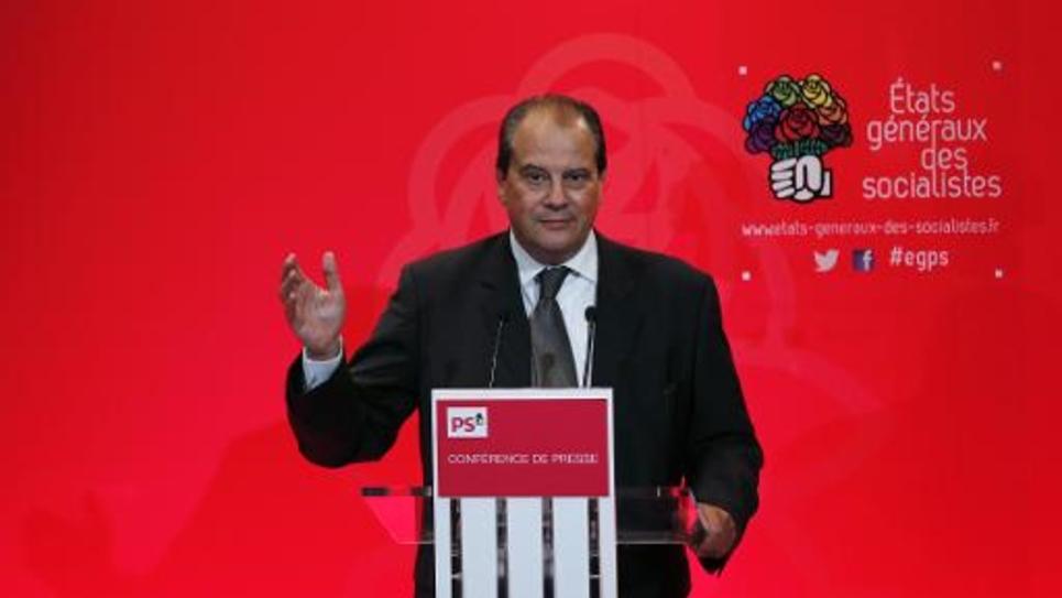 Le premier secrétaire du PS, Jean-Christophe Cambadélis, le 12 octobre 2014, à Paris