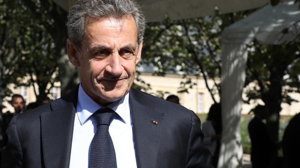 Nicolas Sarkozy lors de la cérémonie d'hommage aux victimes du terrorisme, le 19 septembre 2018 à Paris