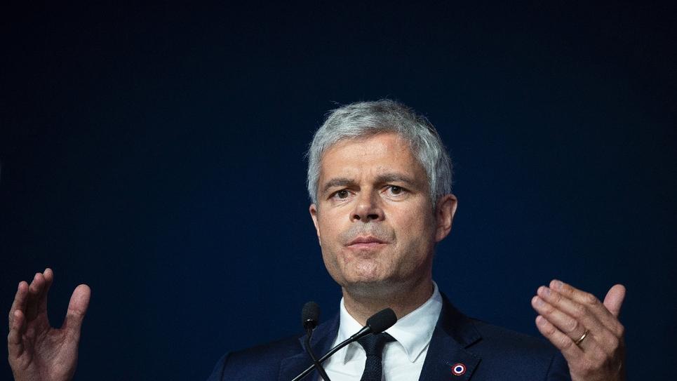 Laurent Wauquiez lors du Conseil national des Républicains à Lyon, le 16 mars 2019