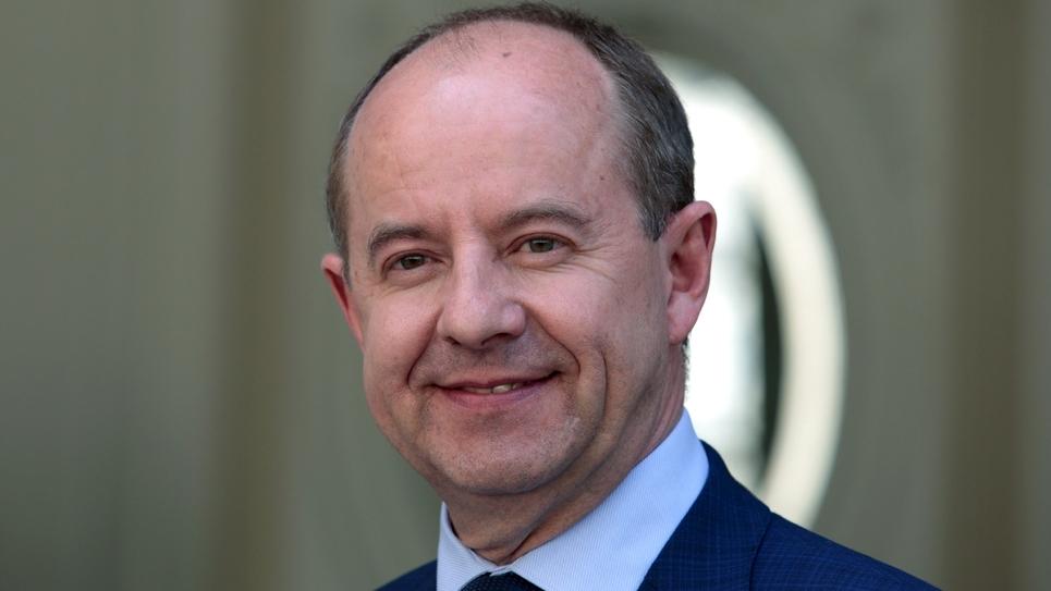 L'ex-ministre de la Justice Jean-Jacques Urvoas, le 17 mai 2017 à Paris