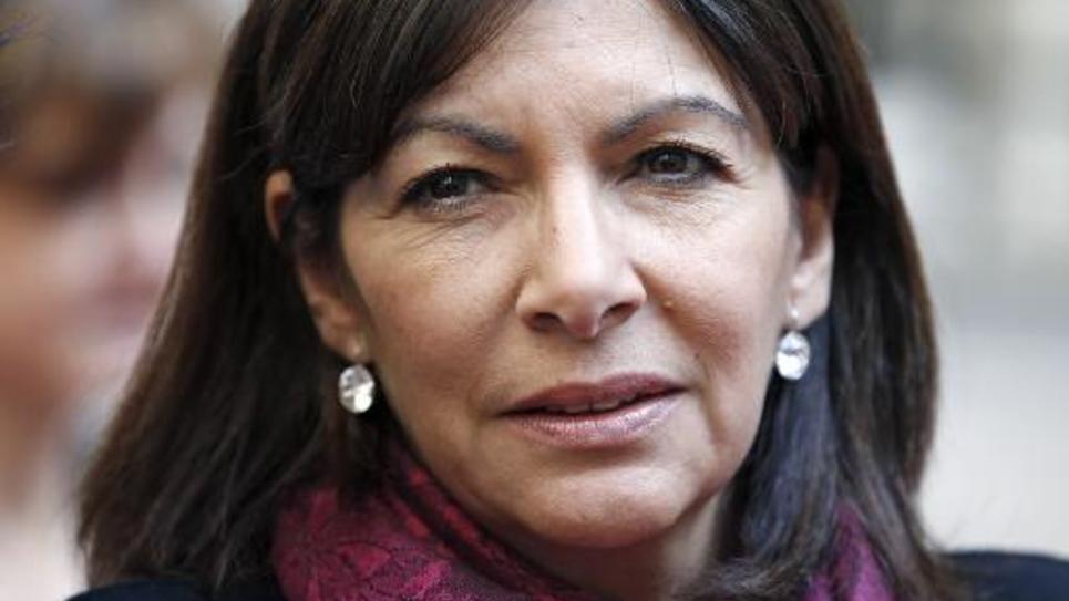 Anne Hidalgo le 8 avril 2015 à Paris
