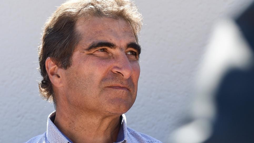 Le patron du groupe Les Républicains (LR) à l'Assemblée nationale, Christian Jacob, le 1er septembre 2018 à La Baule, dans le nord-ouest de la France