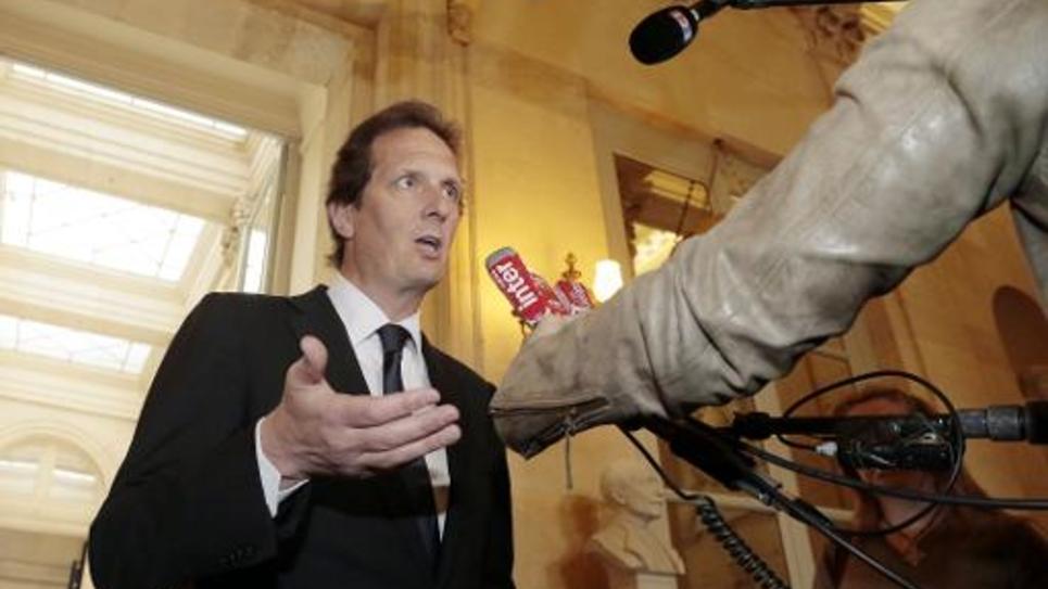 Le député UMP Jérôme Chartier à l'Assemblée nationale, le 29 avril 2014