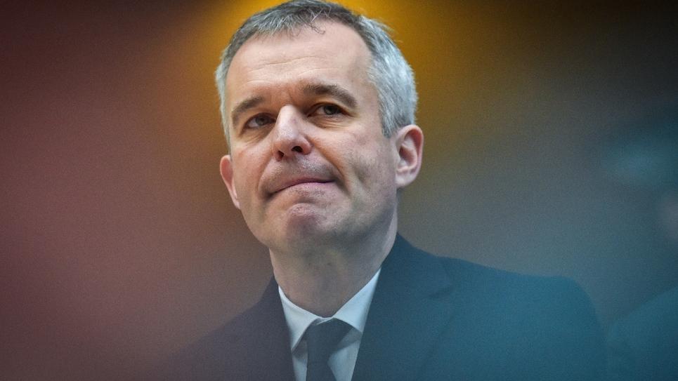 Le ministre de la Transition écologique François de Rugy à Nantes, le 8 février 2019