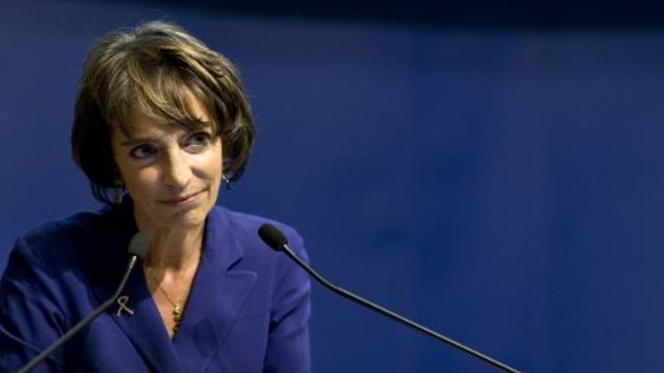 La ministre de la Santé Marisol Touraine, le 16 octobre 2014 à Paris