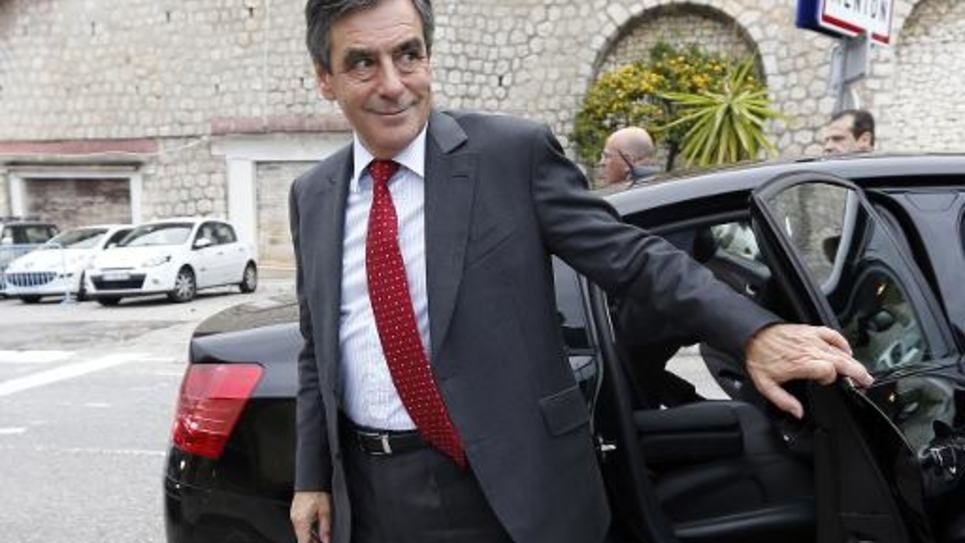 François Fillon à Menton, le 14 novembre 2014