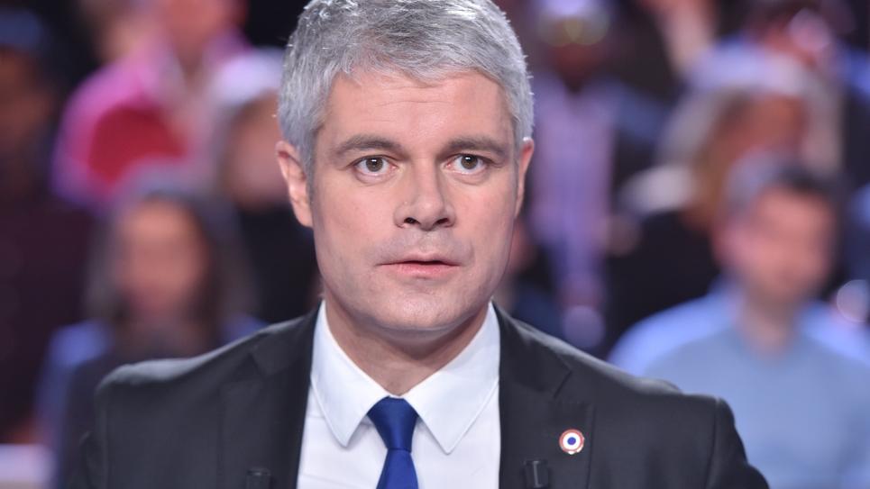 Le chef de file de LR, Laurent Wauquiez le 25 janvier 2018 sur le plateau de France 2 à Saint-Cloud