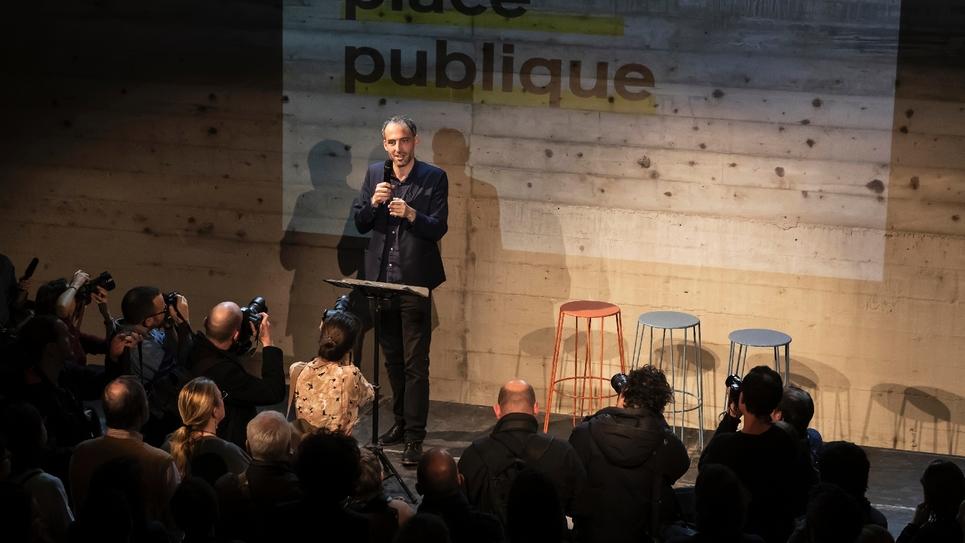 Raphaël Glucksmann le 15 novembre 2018 à Montreuil