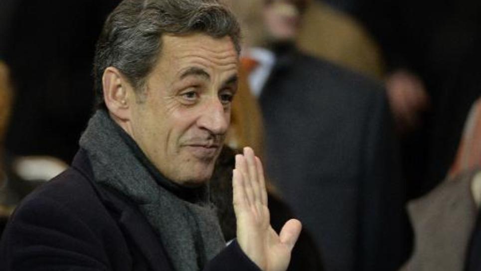 L'ancien président Nicolas Sarkozy, le 17 février 2015 à Paris
