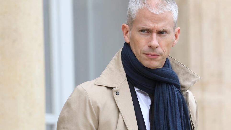 Le ministre de la Culture Franck Riester à la sortie de l'Elysée, le 5 décembre 2018 à Paris