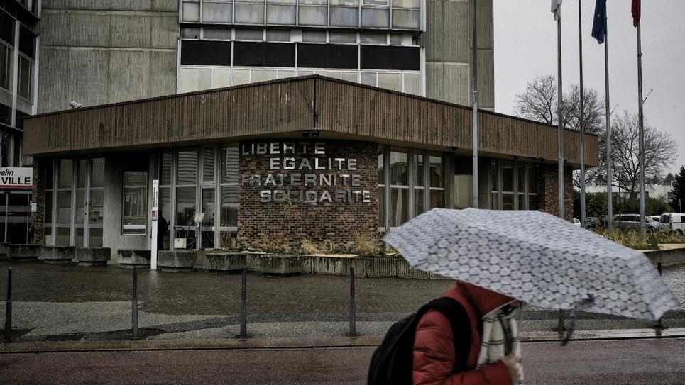 La  mairie de Vaulx-en-Velin le 7 février 2017
