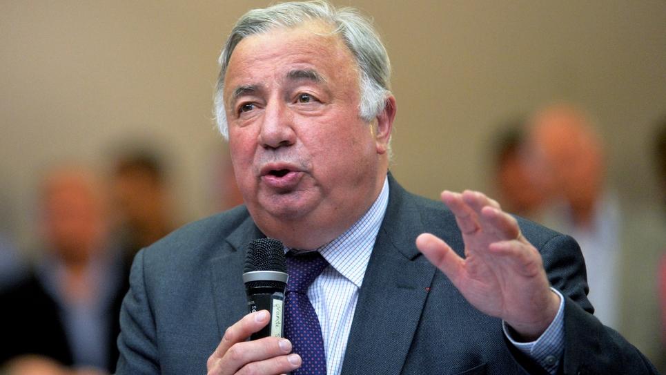 Le président du Sénat, Gérard Larcher, lors d'une réunion sur la droite et le centre, le 21 juin 2019 à Valenciennes