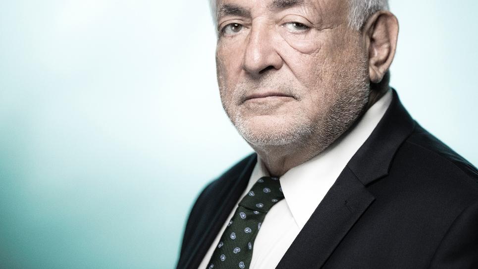 Dominique Strauss-Kahn photographié en septembre 2018 pour l'AFP