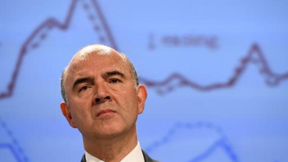 Le commissaire européen aux Affaires économiques et financières Pierre Moscovici à Bruxelles le 4 novembre 2014