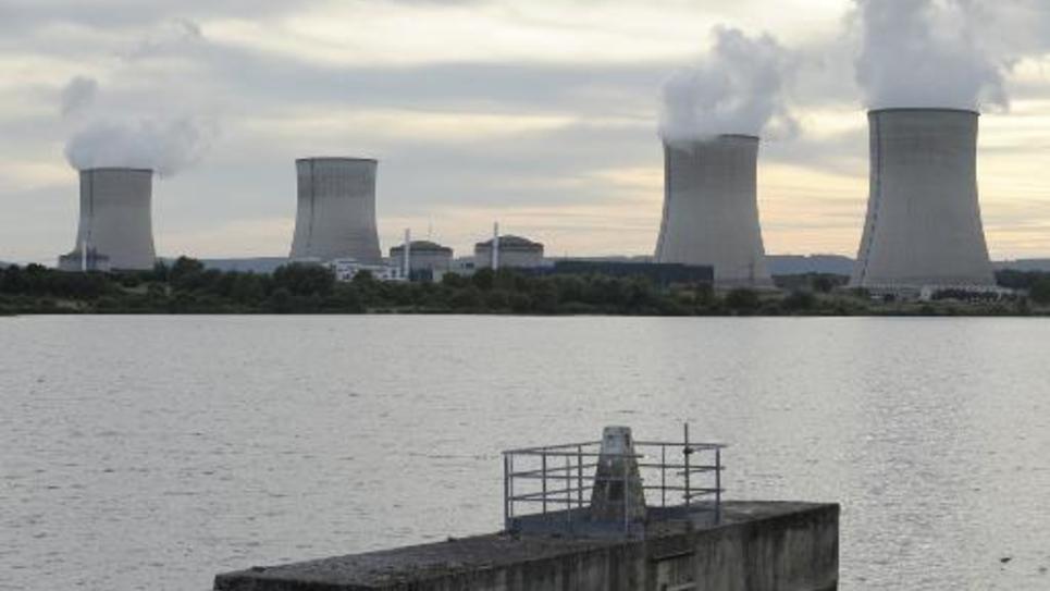 La centrale de Cattenom (Moselle) le 17 août 2013