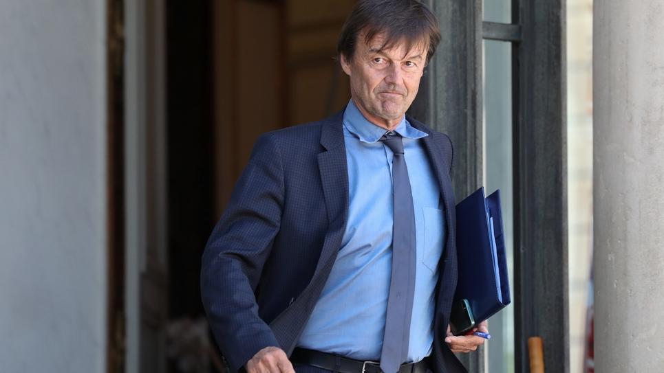 Nicolas Hulot quitte l'Elysée le 27 juin 2018