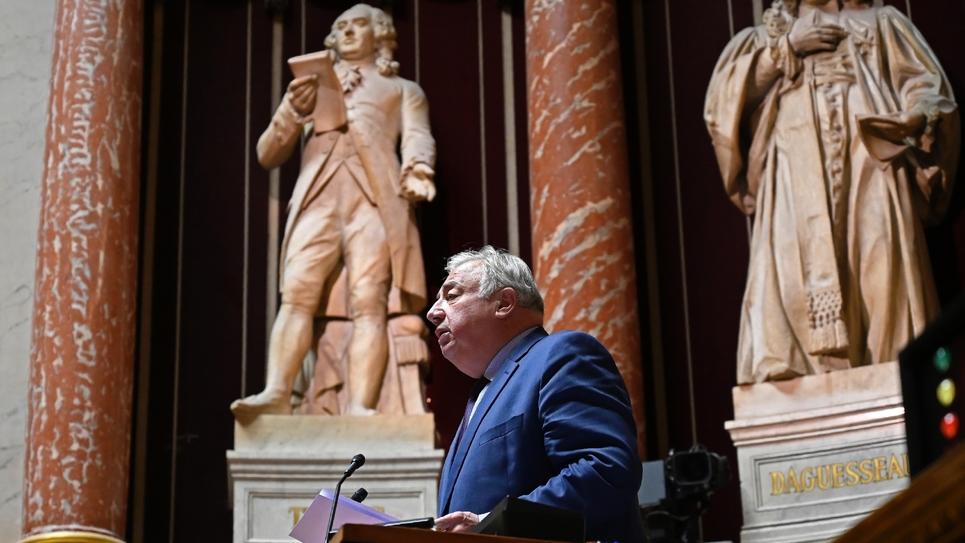 Le président du Sénat Gérard Larcher, le 26 novembre 2019 à Paris
