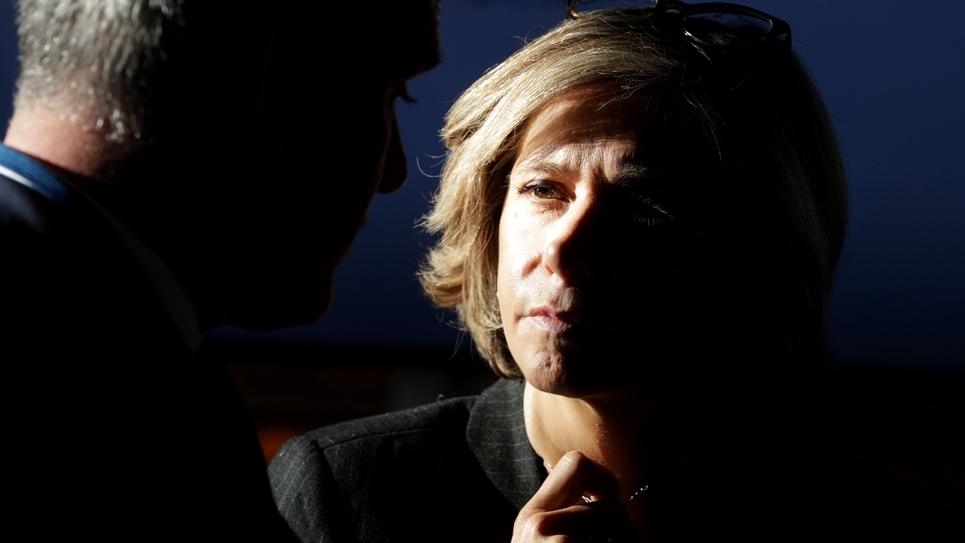 La présidente de la région Ile-de-France Valérie Pécresse, le 21 janvier 2019 à Versailles