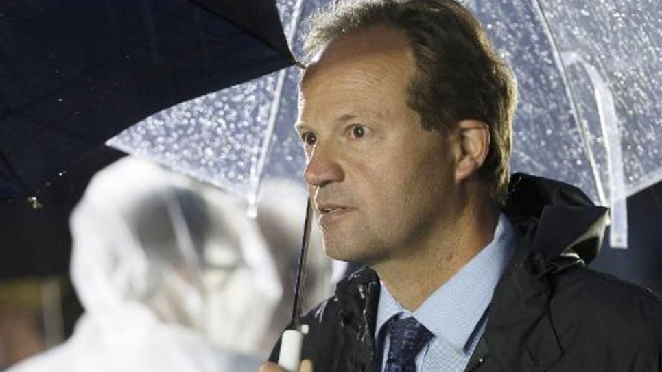 Le député PS Jean-Marc Germain, le 25 août 2014 à Paris