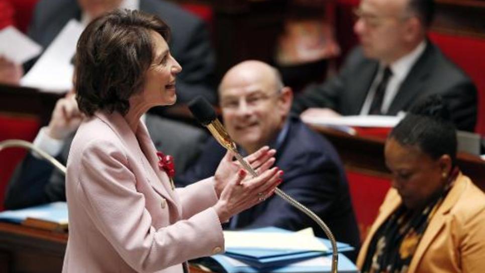 La ministre des Affaires sociales Marisol Touraine le 4 juin 2014 à l'Assemblée nationale à Paris