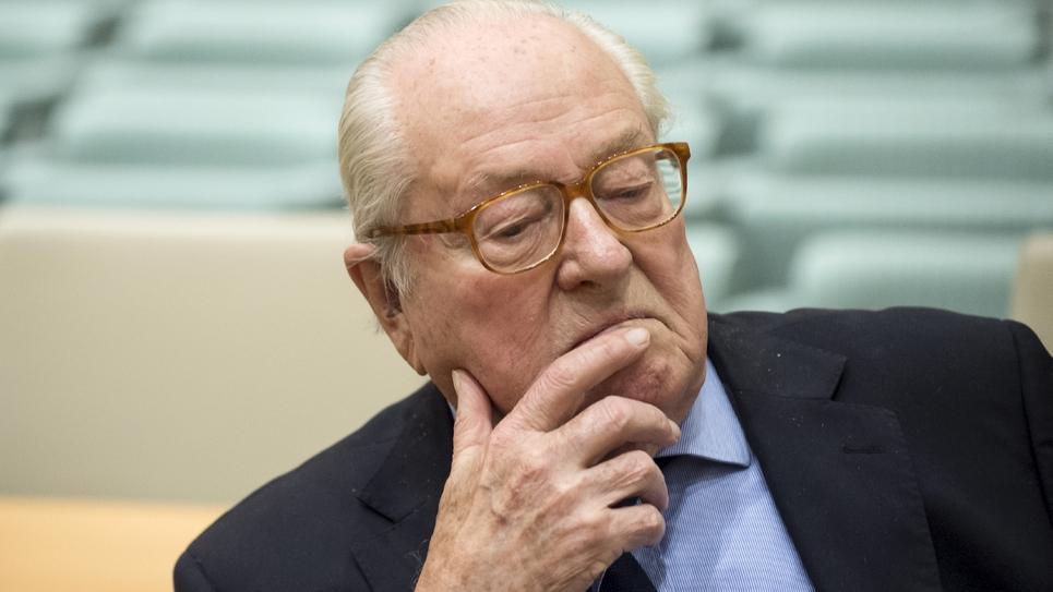 Jean-Marie Le Pen, le 23 novembre 2017 à Luxembourg