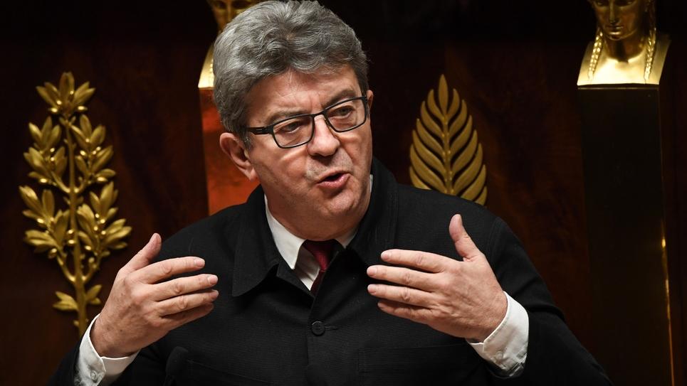Jean-Luc Mélenchon le 20 décembre 2018 à l'Assemblée nationale