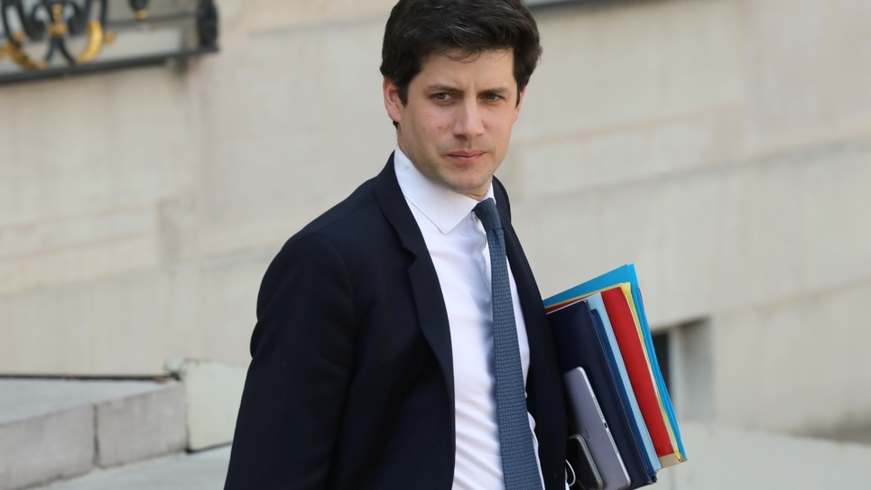 Le ministre du Logement Julien Denormandie, à Paris le 1er avril 2019