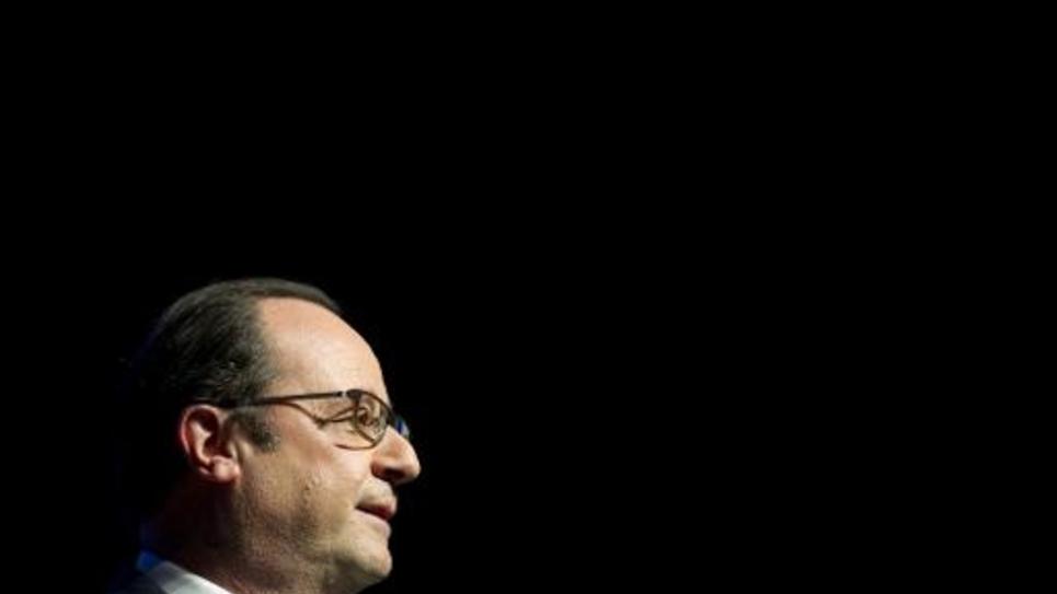 Le président François Hollande, le 9 mars 2015 à Paris