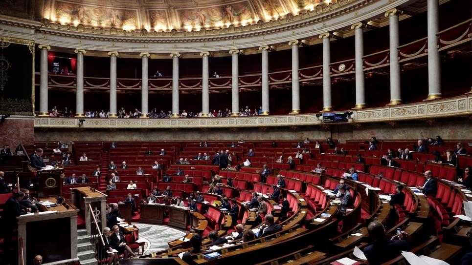 L'Assemblée nationale, le 25 octobre 2017