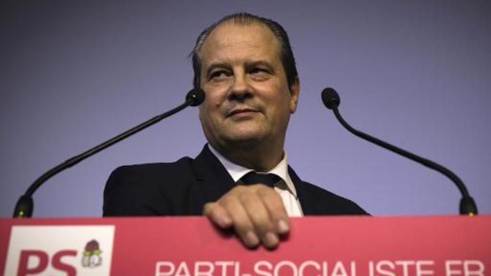 Le Premier secrétaire du PS Jean-Christophe Cambadélis à Paris le 24 février 2015