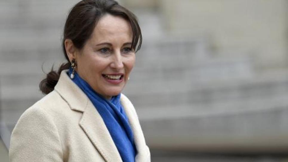 La ministre de l'Écologie Ségolène Royal, le 5 janvier 2015 à Paris