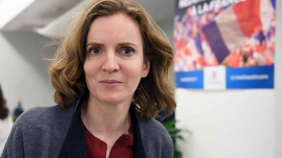 Nathalie Kosciusko-Morizet, au siège des Républicains, le 13 décembre 2016, à Paris.