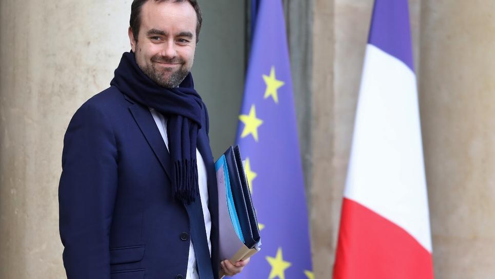 Le ministre chargé des collectivités territoriales Sébastien Lecornu à Paris, le 19 décembre 2018