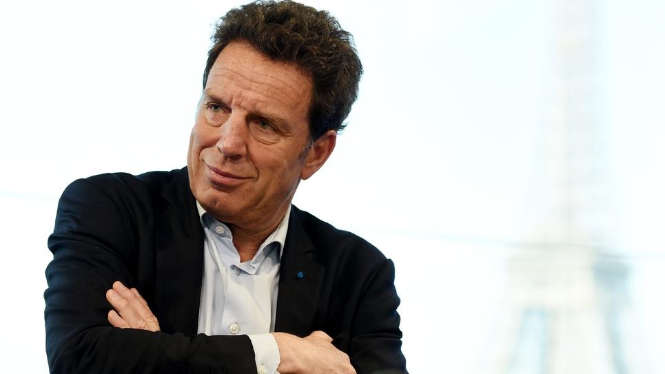 Le président du Medef, Geoffroy Roux de Bézieux, le 18 avril 2019 à Paris