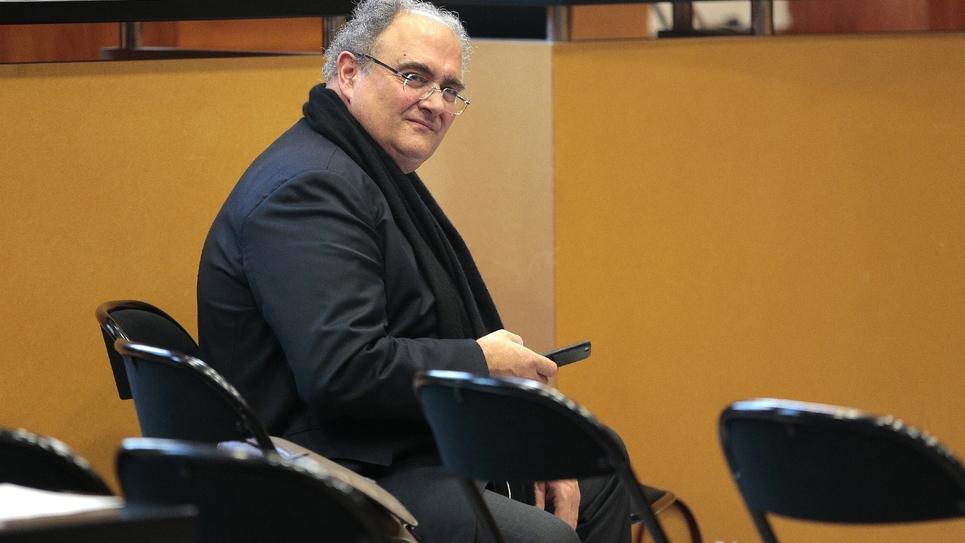 L'ex-député (DVG) corse Paul Giacobbi, le 1er décembre 2016 à Bastia