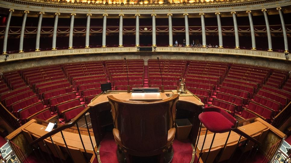 L'assemblée nationale le 16 octobre 2017