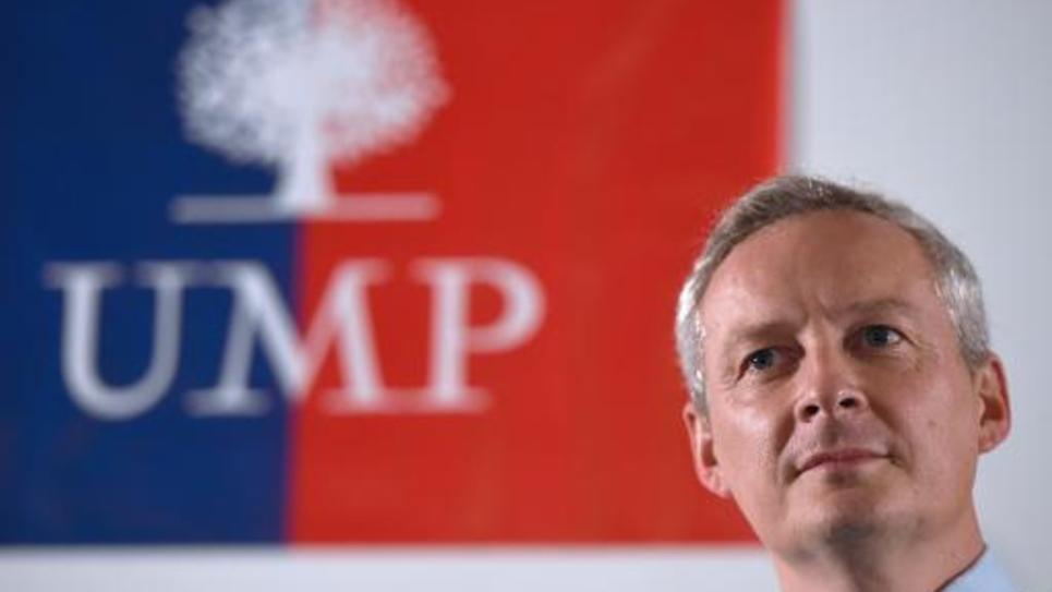 Le candidat à la présidence de l'UMP Bruno Le Maire le 8 octobre 2014 à Aix-en-Provence