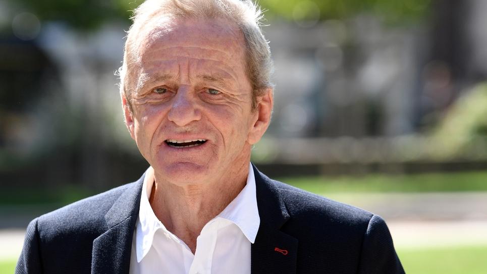 L'ancien maire de Grenoble, Alain Carignon, le 8 septembre 2018