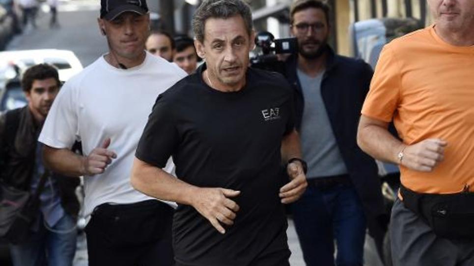 Nicolas Sarkozy le 16 septembre 2014 à Paris