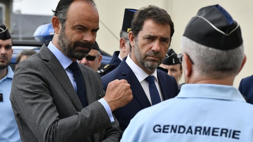 Le Premier ministre français Edouard Philippe le 2 mai 2019 à Terres-de-Haute-Charente