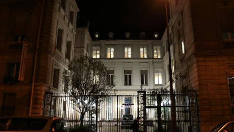 Le siège du parti socialiste rue de Solférino, à Paris