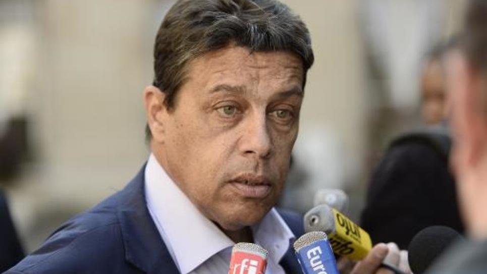 Le président de la FNSEA, Xavier Beulin, le 26 septembre 2014 à Paris