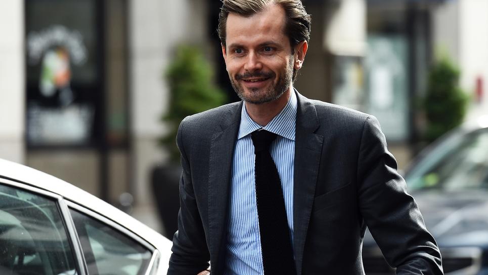 Le député LR Guillaume Larrive le 11 juillet 2017 à Paris
